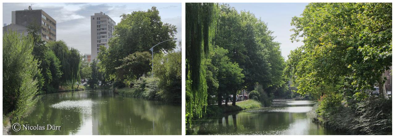 Le bief des Minimes-Matabiau. Longueur : 1 km 260 et 3e bief du Canal du Midi. Altitude, 139 m. Le bief des Minimes et de l'ancien bief Matabiau ont été ramenés au même niveau lors du remaniement du canal à Toulouse dans les années 70.