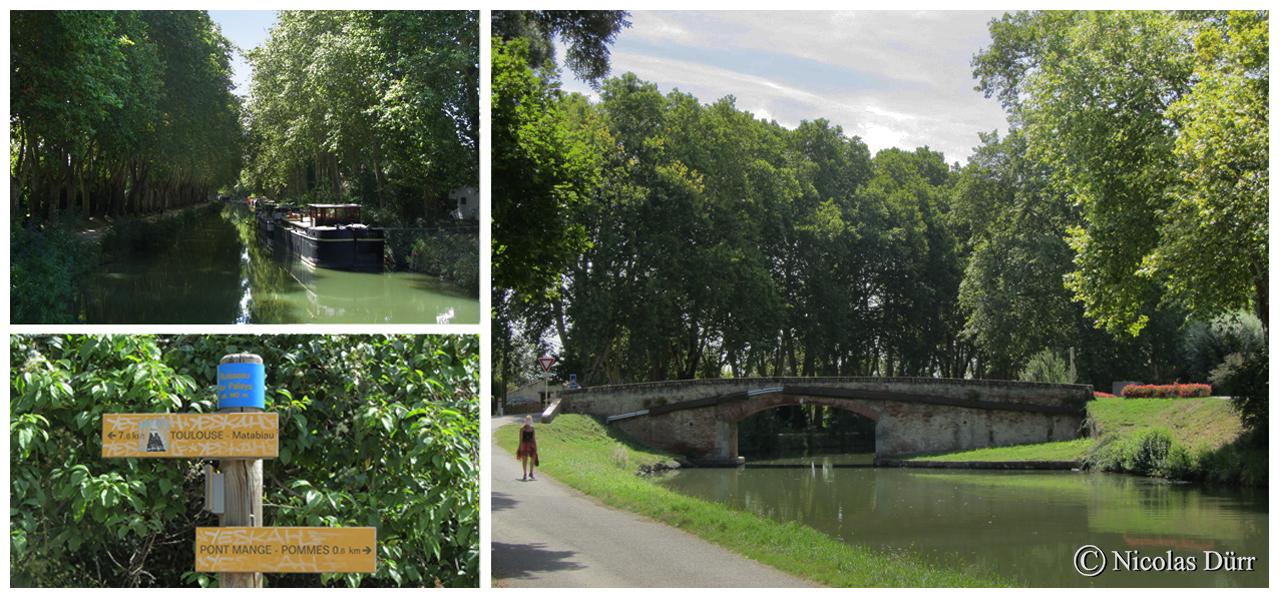 Le pont mange Pommes, ou du madron, élégant ouvrage datant des 17ème et 18ème siècle.