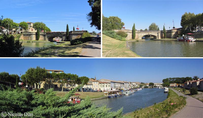 Arrivée sur Castelnaudary