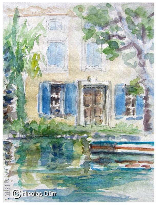 Belle demeure languedocienne sur la rive gauche (2)