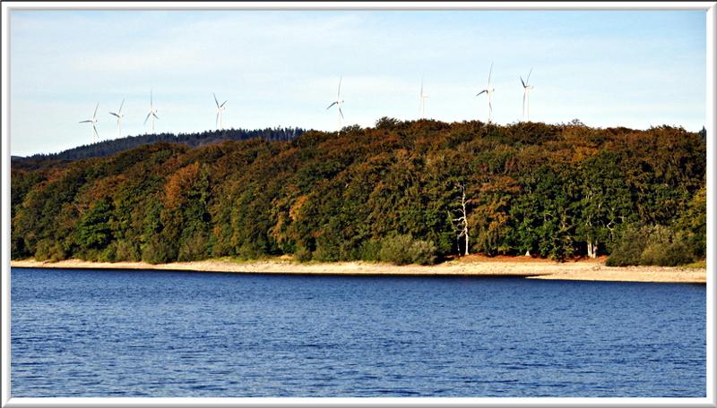 Éoliennes au bassin du Lampy