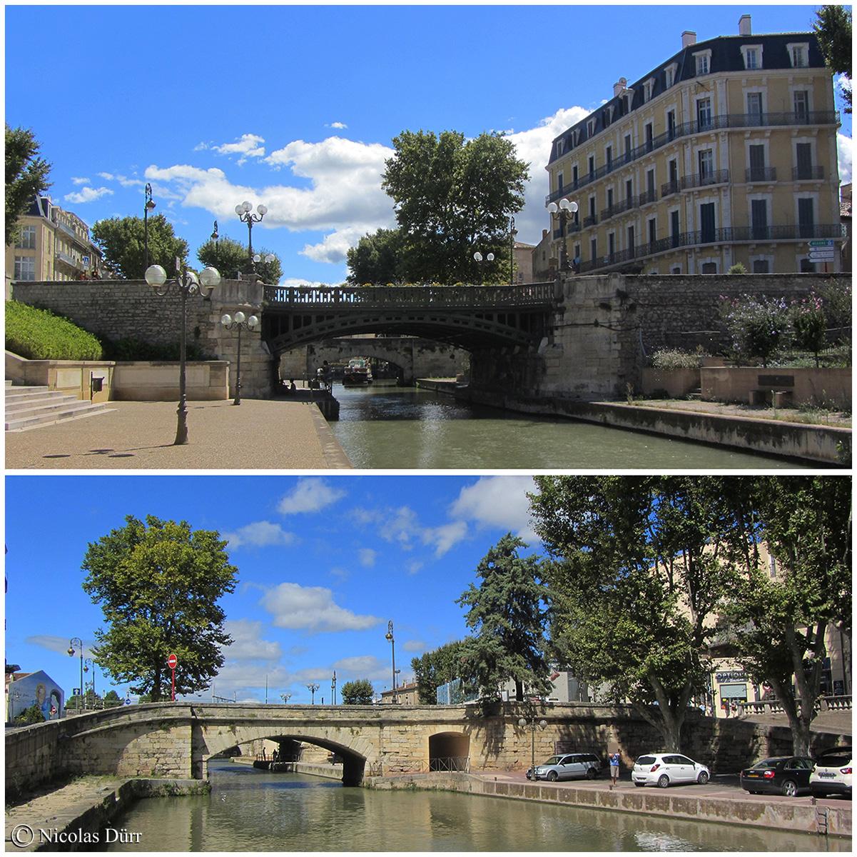 Le pont de la Concorde et le pont Voltaire