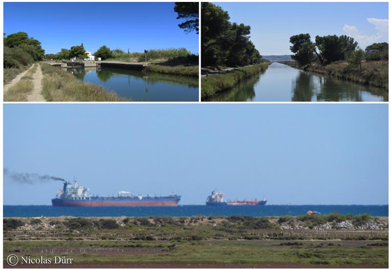 En route pour Port la Nouvelle