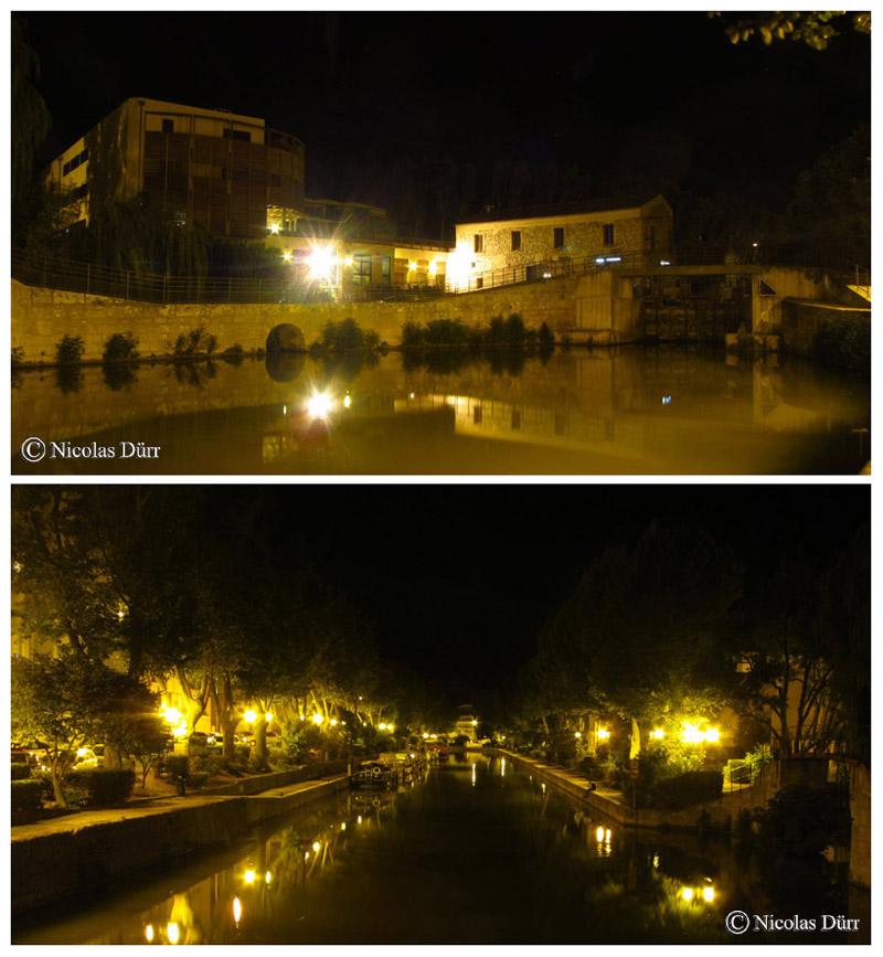 Nocturne à l'écluse du Moulin du Gua, 2015