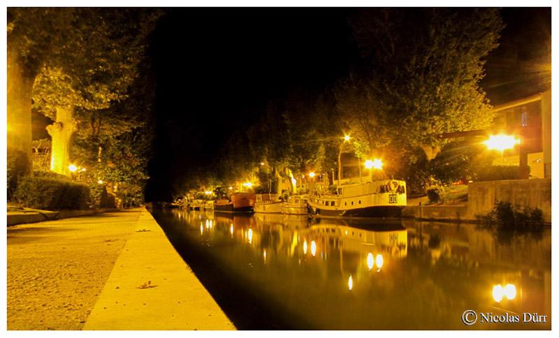 Nocturne au bief de Narbonne, 2015