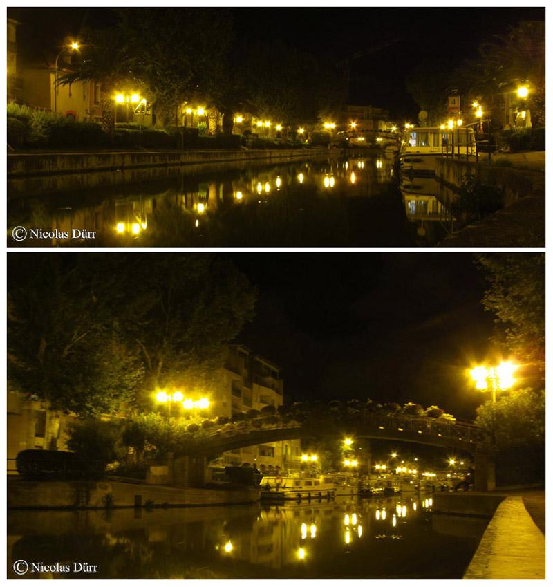 Nocturne sur le Pont Alsace-Lorraine, 2015
