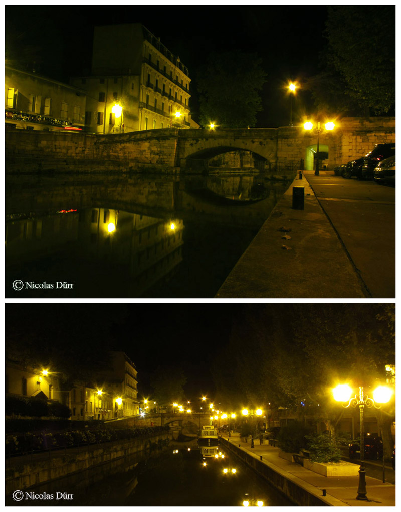 Nocturne sur le pont Voltaire, 2015