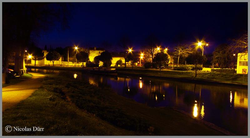 2015-nocturne-canal-du-midi-castelnaudary-depuis-le-pont-neuf-vue-en-amont