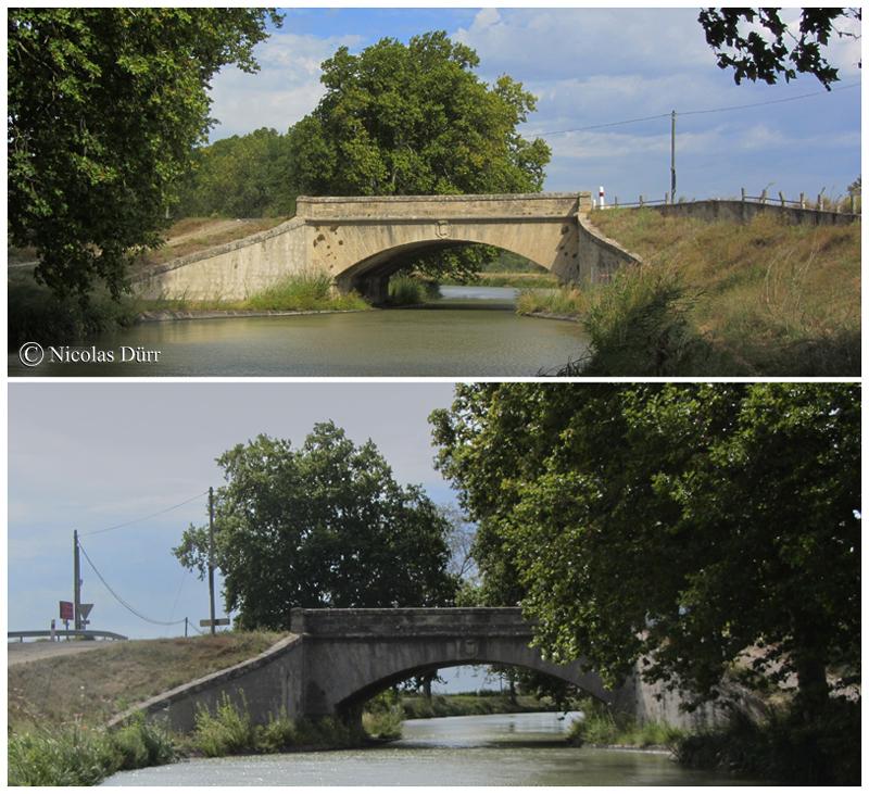 Le pont Neuf d'Argeliers, mai 2015