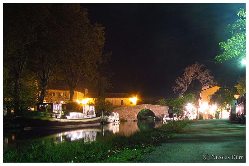 Nocturne sur le pont en amont, 2016