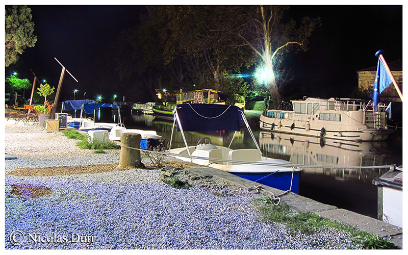 Nocturne sur les barques de la rive droite, 2016