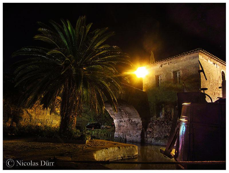 Nocturne sous le pont de la chapelle, 2016