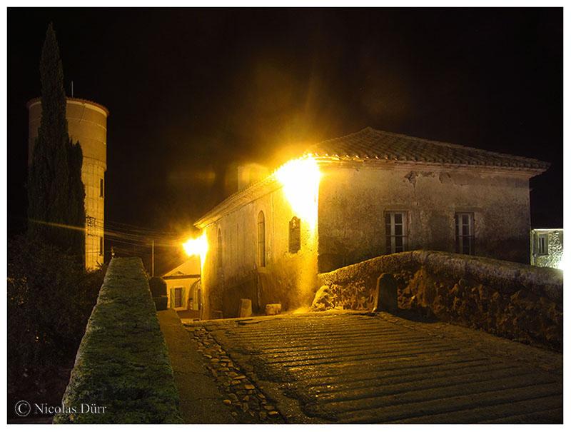 Nocturne sur le chevet de la chapelle, 2016