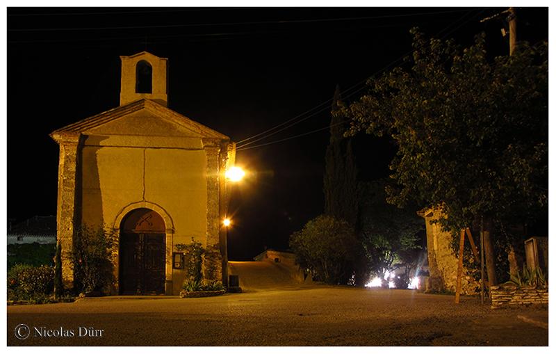 Nocturne sur la chapelle, 2016
