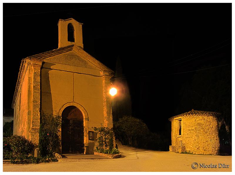 Nocturne sur la chapelle et la glacière, 2016