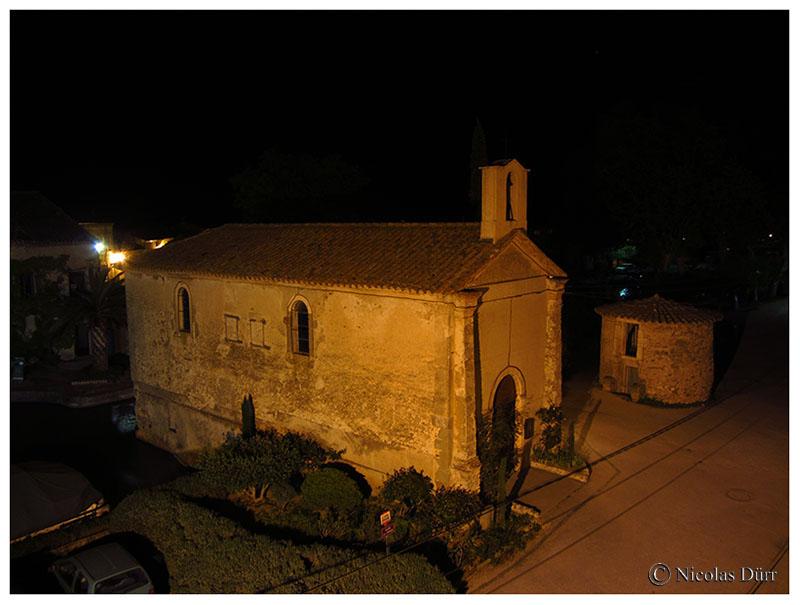 Nocturne sur le toit de la chapelle, 2016