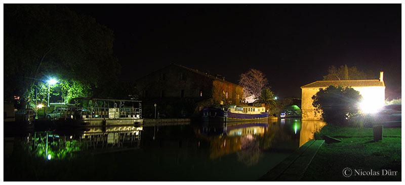 Nocturne en aval depuis la rive gauche, 2016