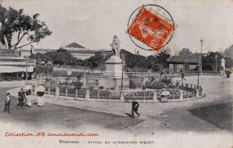 Statue de Paul Riquet