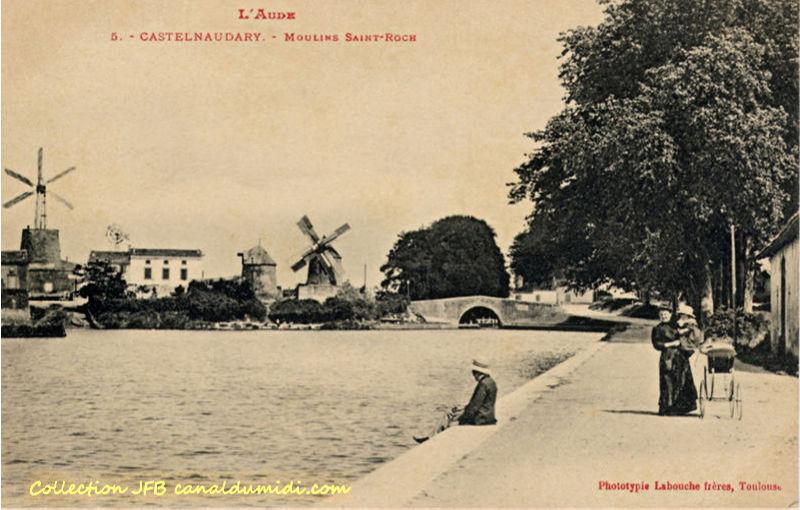 Castelnaudary : Moulins Saint-Roch