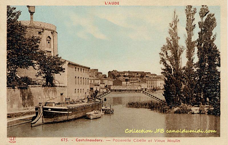 Castelnaudary : Passerelle de Cibelle