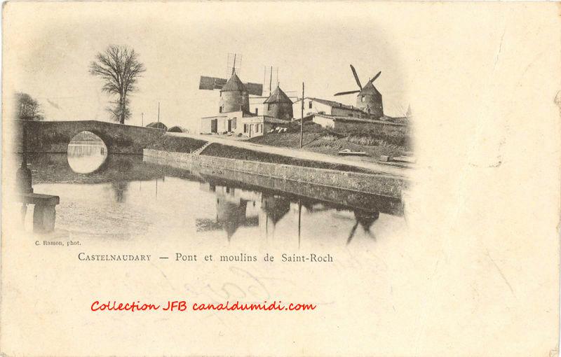 Pont et Moulins de St Roch