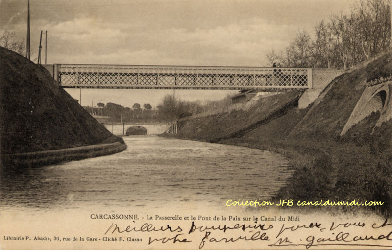 Carcassonne : La passerelle