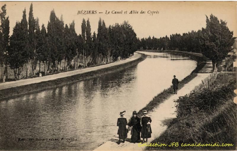 Le Canal à Béziers