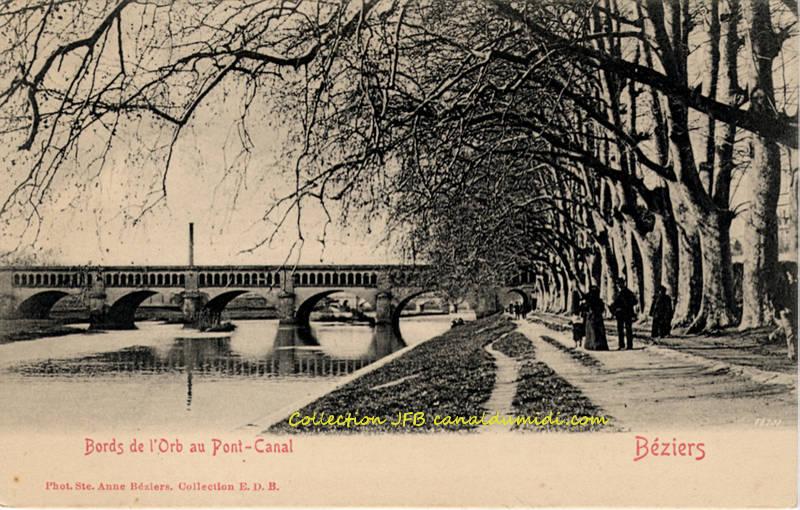 Béziers : Le pont-canal
