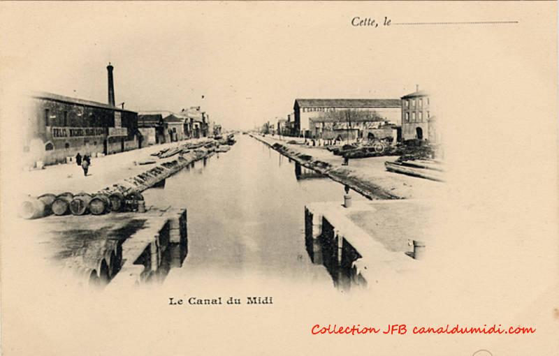 Sète : Le canal