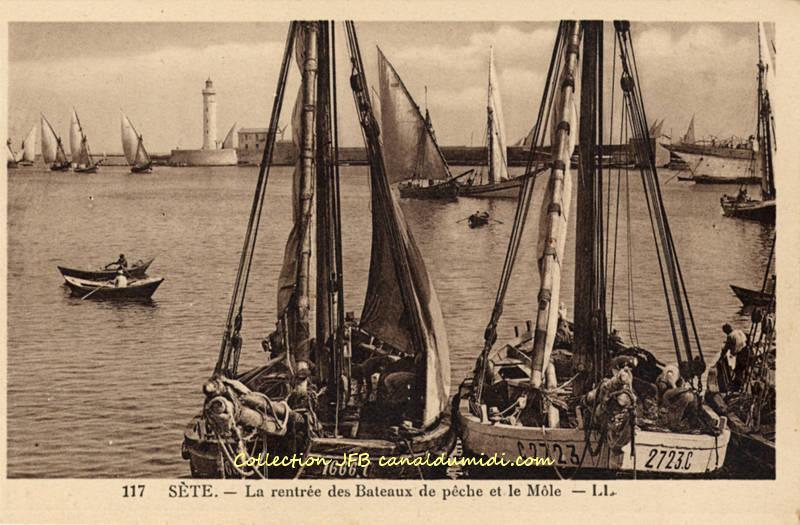 Sète : le port
