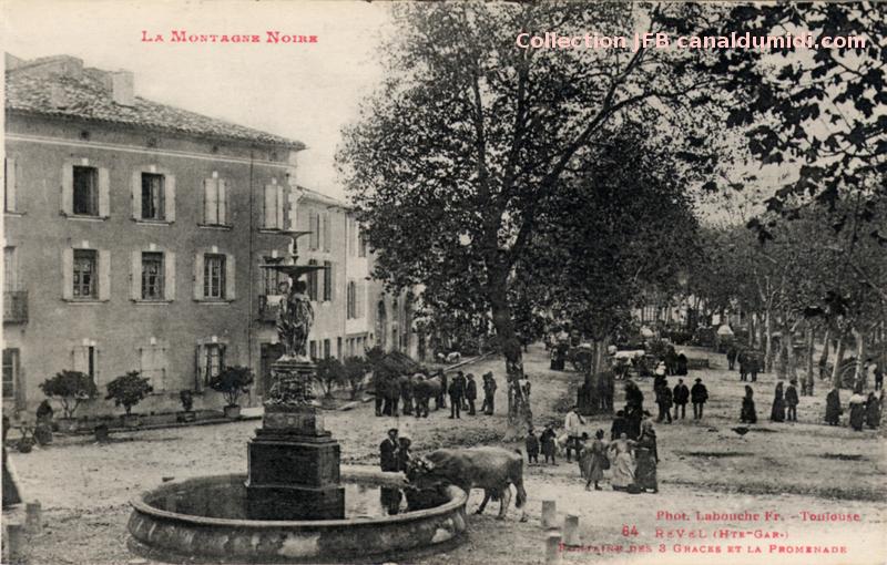 Revel - Fontaine Des Trois Grâces