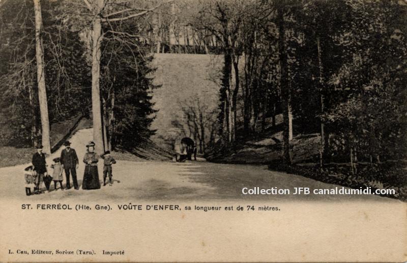 Saint Ferréol - Voûte dEnfer
