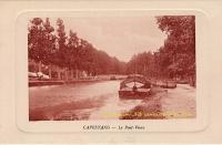 Capestang : Le pont vieux