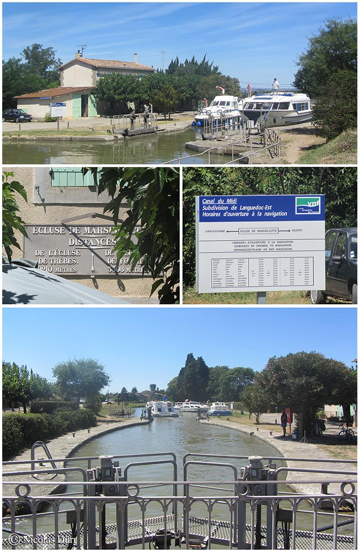 L'écluse de Marseillette