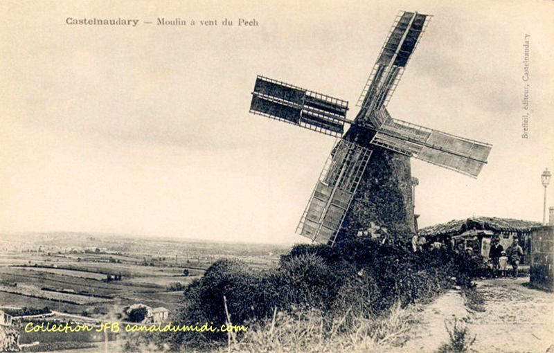 Castelnaudary : Moulin du Pech