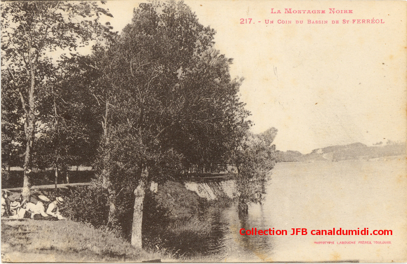 Montagne Noire - Un coin du Bassin de St Ferréol