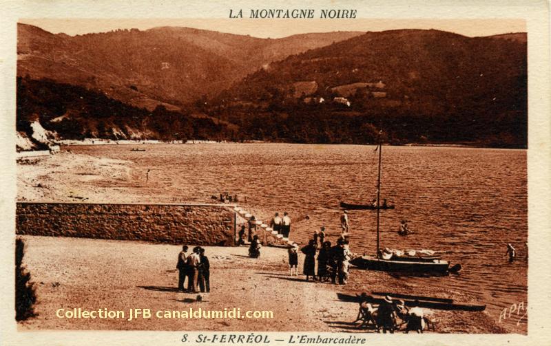 Saint Ferréol - Embarcadère - 01