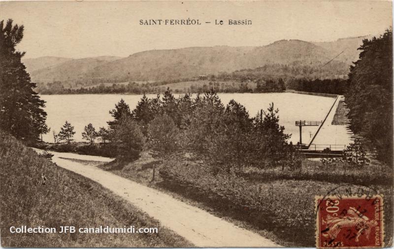 Saint Ferréol - Le Bassin