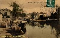 Béziers : Le port Notre-Dame