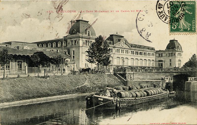 Toulouse Vers La Gare Matabiau